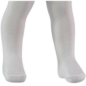Minidamla 0-24 Months Baby Girl White Lace Pantyhose (1)