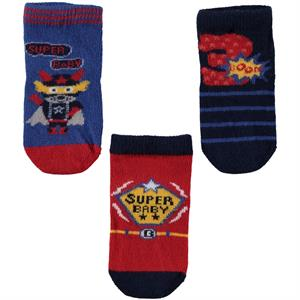 Katamino Baby boy 3-Set of socks 0-12 months navy blue