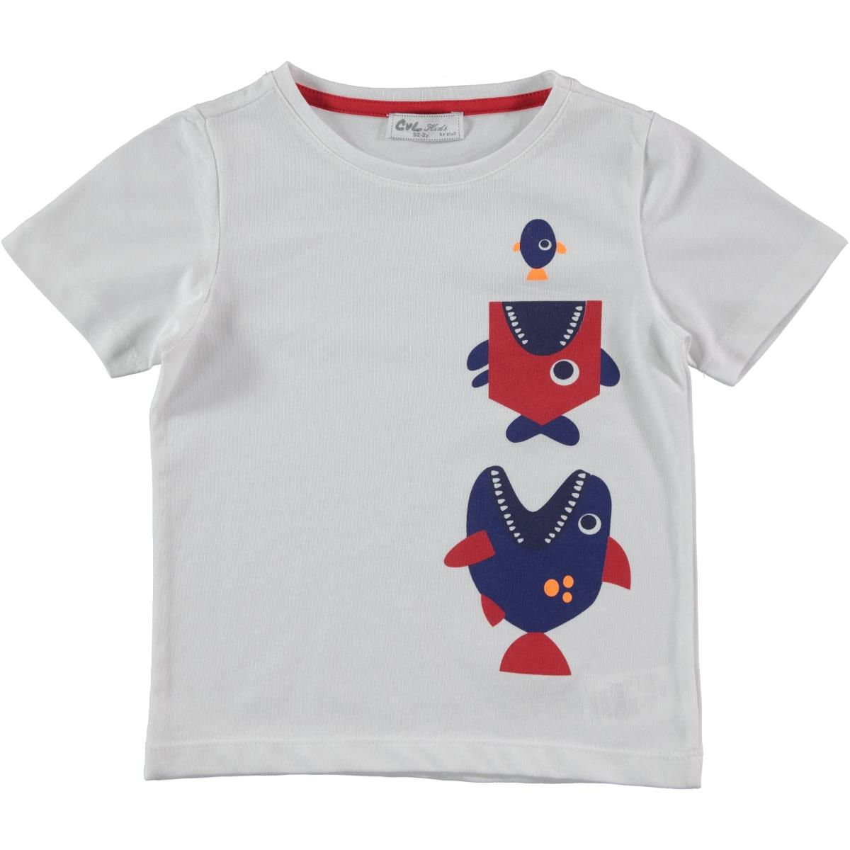 Cvl Boy T-Shirt Red Age 2-5