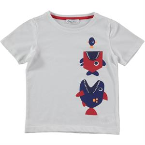 Cvl Boy T-Shirt Red Age 2-5 (1)