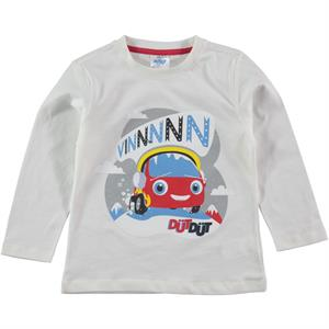 Düt Düt 1-5 Years Boy Sweatshirt Ecru