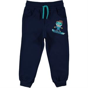 Cvl Minky Navy Blue Sweatpants Boy Age 1-5