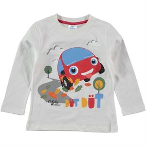 Cvl Boy Sweatshirts Ecru Mulberry Mulberry 2-5 Years