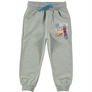 Kukuli Gray Sweatpants Boy 1-5 Years