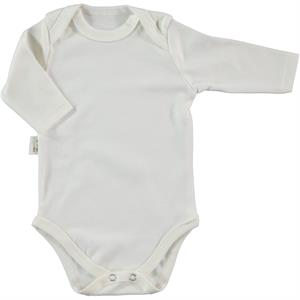 Civil Baby Ecru Bodysuit 3-36 Months Baby With Snaps