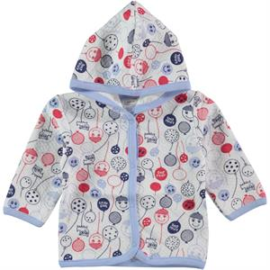 Civil Baby 3-9 Months Baby Boy Blue Hooded Cardigan