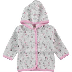 Civil Baby Baby Girl Hooded Cardigan, Pink, 3-9 Months