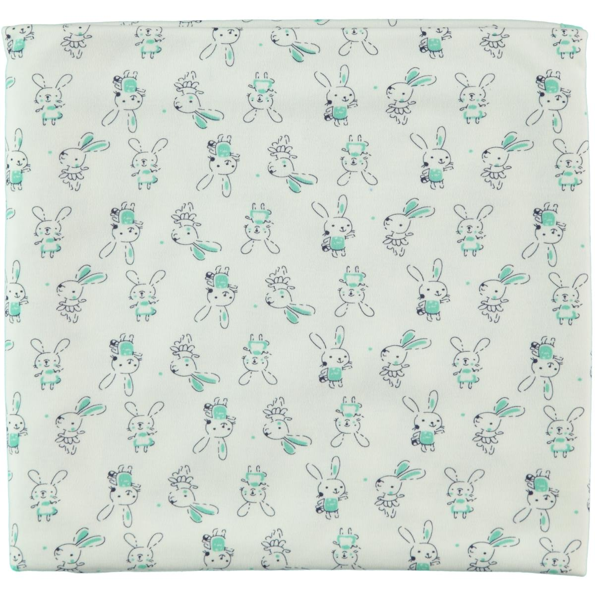 Civil Baby Mint green baby girl Blanket double 85x90 Cm