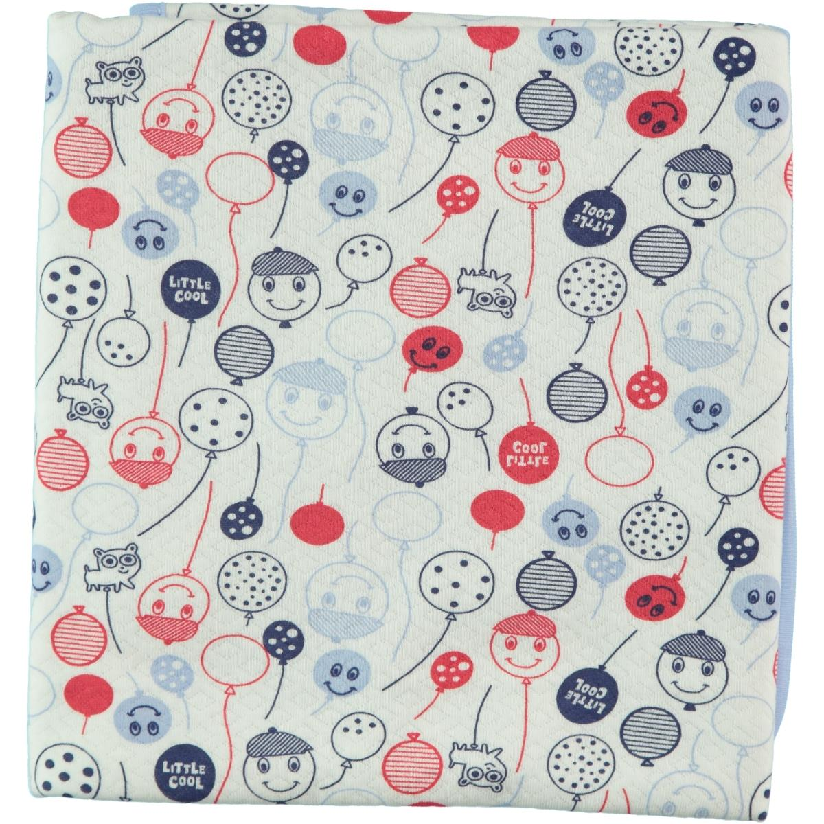 Civil Baby Baby double layer Blanket Blue 80x85 Cm