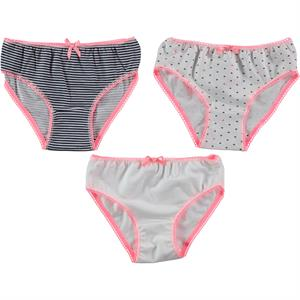 Civil Girls Panties girl child 3-Set Pink age 2-12