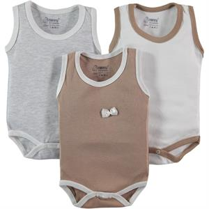 Nenny Baby Baby girl 3-way Ecru 0-6 months Bodysuit with snaps
