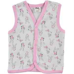Civil Baby 3-12 Months Pink Baby Girl Vest