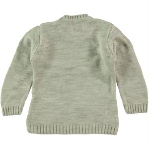 Erva Children Knitwear Girl's Sweater Beige 1-3 Years (2)