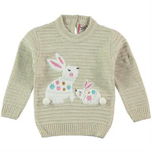 Mastika 1-3 Years Girl Sweater Beige
