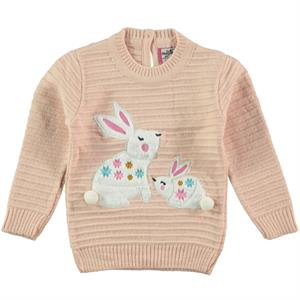 Mastika 1-3 Years Girl Sweater Powder Pink