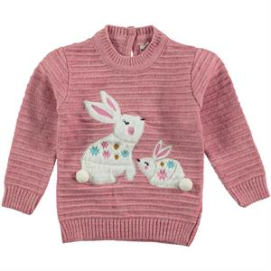 Mastika Pink Sweater Girl 1-3 Years