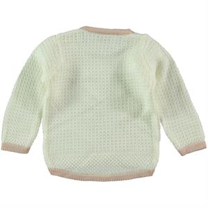 Erva Children's Ecru Knitwear Sweater Girl 1-3 Years (2)