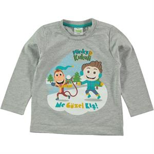 Kukuli Boy Gray Sweatshirt 1-5 Years