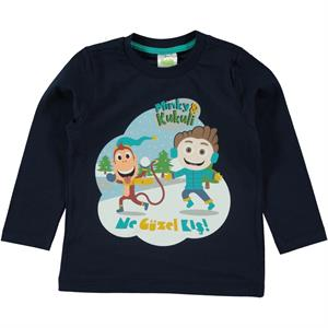 Kukuli Navy Blue Sweatshirt Boy Age 1-5