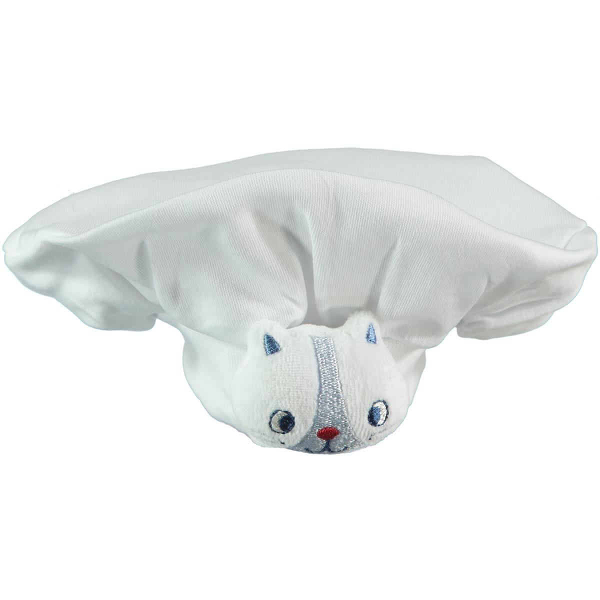 Minidamla Chef Hat Baby Girl White