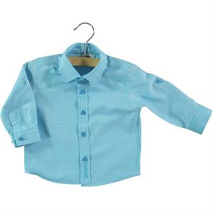 Civil Baby 6-18 Months Baby Boy Shirt Turquoise