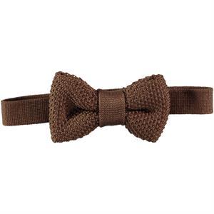 Civil Children's Knitwear Brown Bow Tie
