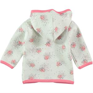 Civil Baby Powder Pink Hooded Cardigan Baby Girl 3-9 Months (2)