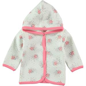 Civil Baby Powder Pink Hooded Cardigan Baby Girl 3-9 Months (1)