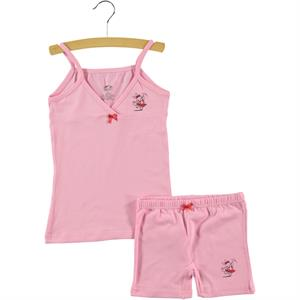 Şahin The Girl Child-Ages 1-10 Team Printed Pink Underwear
