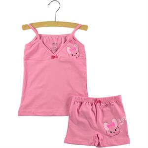 Şahin The Girl Child-Printed Underwear Fuchsia 1-10 Age Team