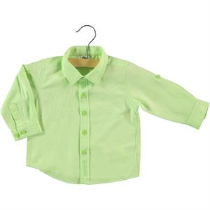 Civil Baby Yesil 6-18 Months Baby Boy Shirt