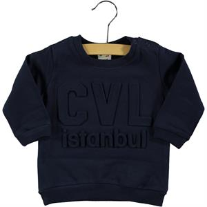Civil Baby 6-18 Months Baby Sweatshirt Navy Blue