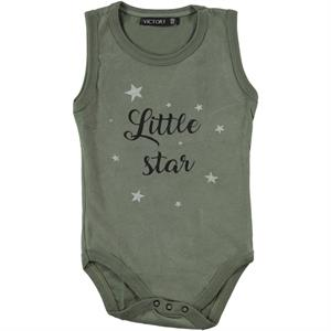 Victory Yesil 6 Months To 2 Years Baby Bodysuit With Snaps