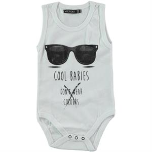 Victory Baby Bodysuit With Snaps 6 Months-2 Years Old, White