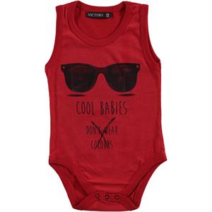 Victory Baby Red Bodysuit With Snaps 6 Months To 2 Years