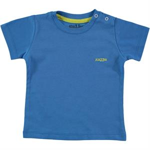 Kujju Baby Boy T-Shirt Blue-6-18 Months