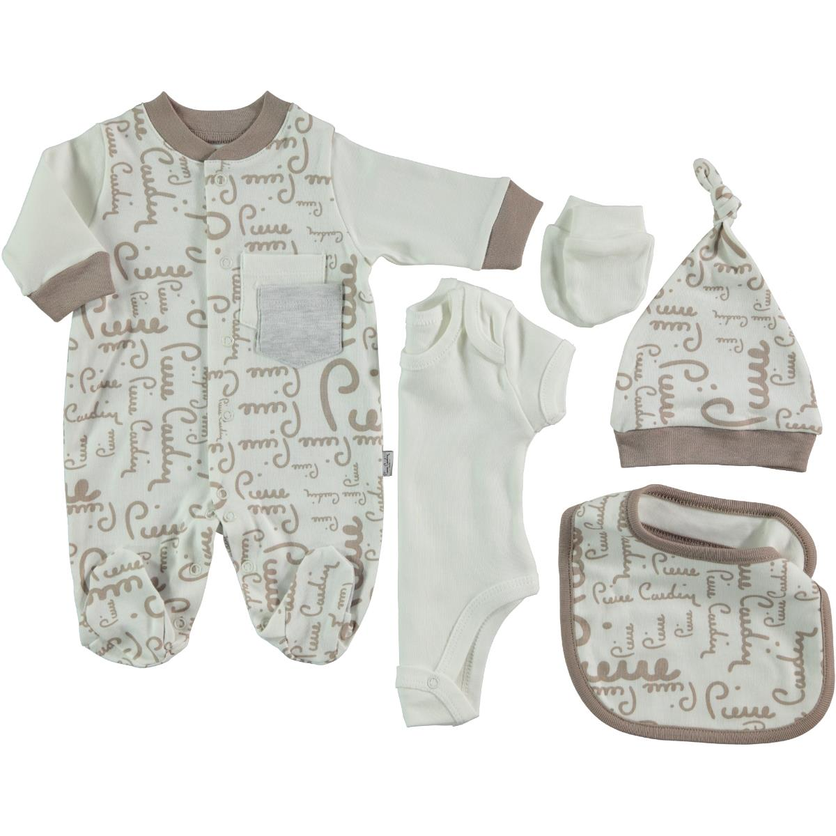 Pierre Cardin Baby Jumpsuit 5-set 0-3 months, Brown