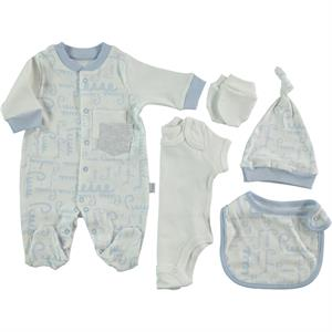 Pierre Cardin Baby Jumpsuit 5-set Blue 0-3 months