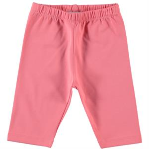 Cvl Pinkish Orange Combed Cotton Tights 2-5 Years