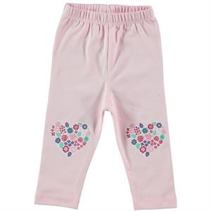 Kujju Baby Girl Tights, Pink, 6-18 Months