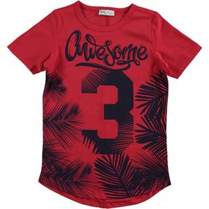 Civil Boys Cvl Boy T-Shirt Age 6-9 Red