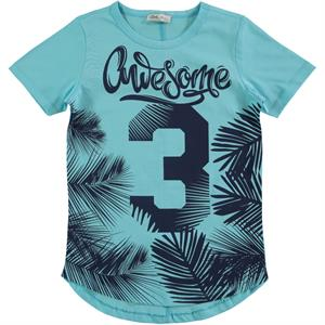 Civil Boys Cvl Boy T-Shirt Turquoise The Ages Of 6-9