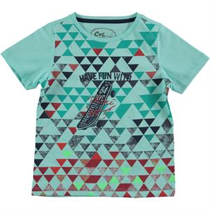 Cvl Boy T-Shirt Mint Green Age 2-5