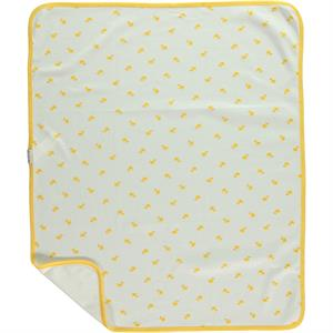 Civil Baby The baby blanket is a single layer 80x 90 cm Yellow (2)