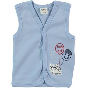 Civil Baby 3-12 Months Baby Boy Blue Vest