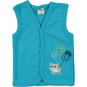 Civil Baby 3-12 Months Baby Boy Vest Turquoise