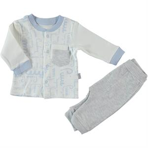 Pierre Cardin Team Baby Blue, 3-12 Months