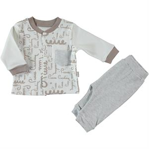 Pierre Cardin Team Brown 3-12 Months Baby