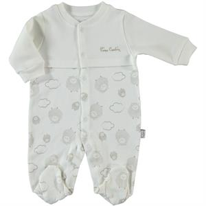 Pierre Cardin Ecru Jumpsuit 0-6 Months Baby's Baby Booty Oh