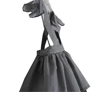 Shecco Babba Girls Dress-Hearted, Black-And-White (3)
